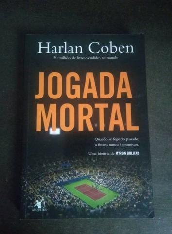 Livro Jogada Mortal (usado)