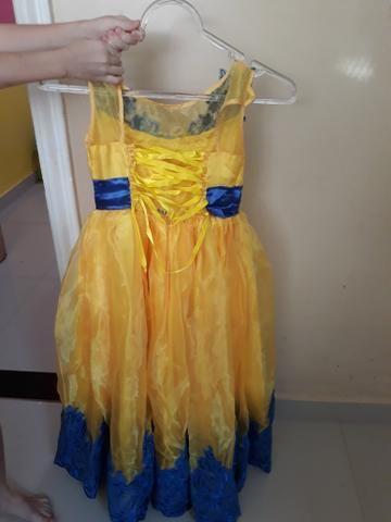 Vestido de Festa de 5 a 7 anos - Foto 2