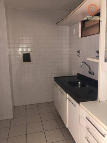Apartamento com 1 dormitório à venda, 54 m² por R$ 220.000,00 - Jatiúca - Maceió/AL - Foto 8