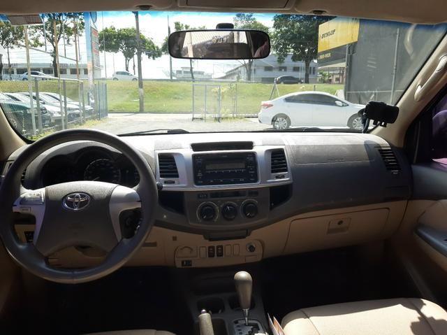 Toyota Hilux SW4 2.7 Flex 2012/2013 único dono automática - Foto 9