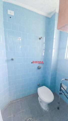 Apartamento com 3 dormitórios à venda, 146 m² por R$ 629.000,00 - Aparecida - Santos/SP - Foto 12