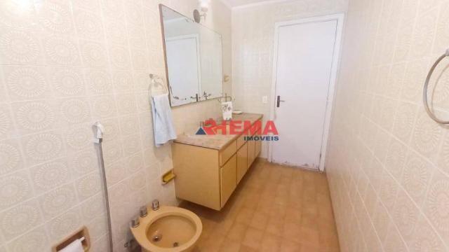 Apartamento com 3 dormitórios à venda, 146 m² por R$ 629.000,00 - Aparecida - Santos/SP - Foto 16