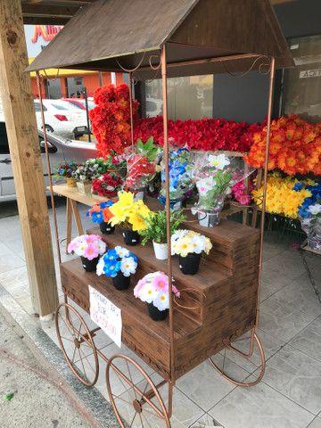Carrinho de Flores - Foto 4