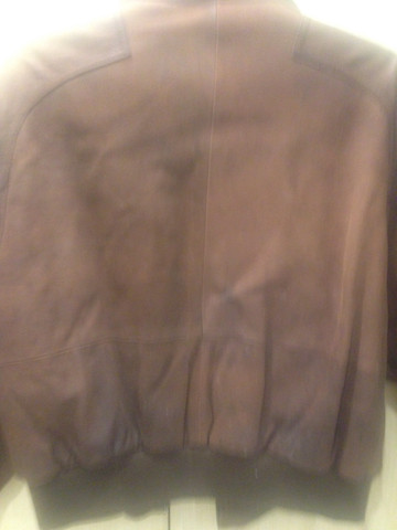 Jaqueta de camurça marrom - Foto 4