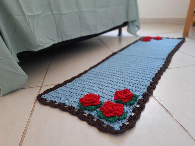 Jogo de banheiro floral - Foto 6