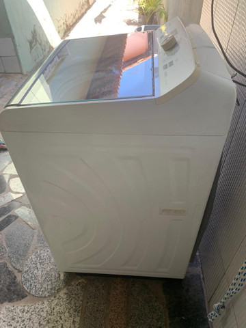 Lavadora de roupas Panasonic 14 kg usada (parcelo no cartão de crédito) - Foto 6