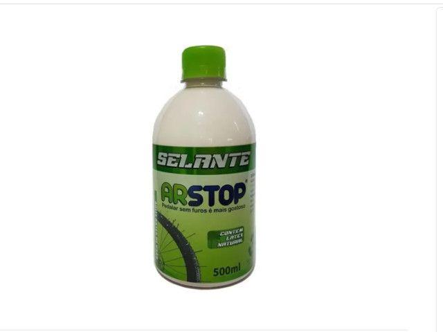 Selante Liquido Bike Arstop 500 Ml Anti Furo P/ Tubeless