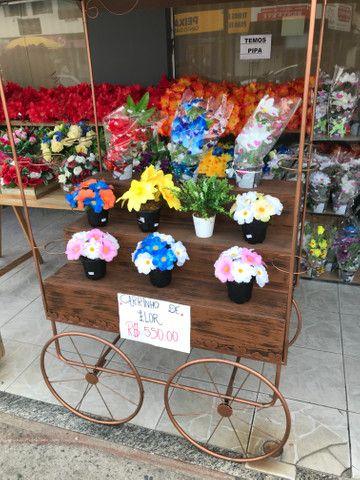 Carrinho de Flores - Foto 2