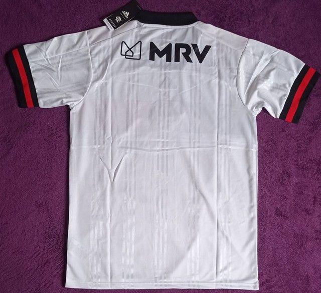 Camisa Do Flamengo branca (disponível: GG) - Foto 4