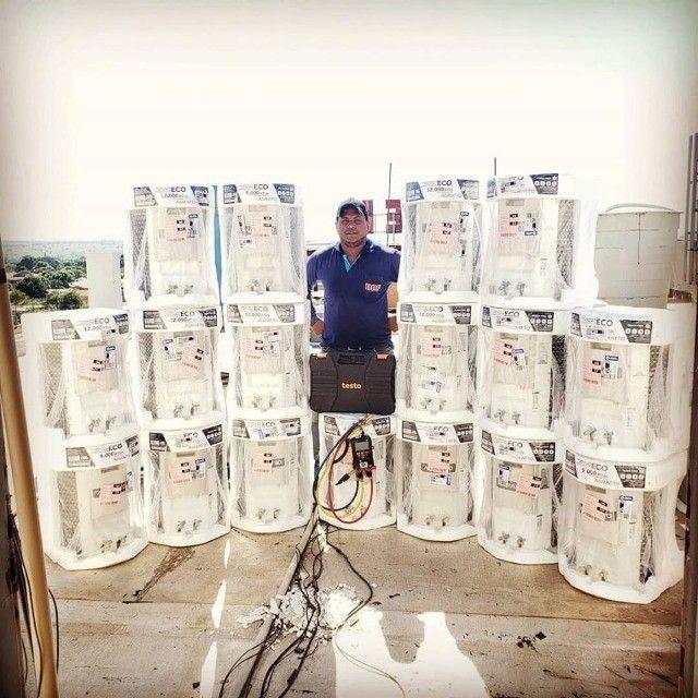 Instalação, Manutenção e com a DAF ar condicionado  - Foto 3