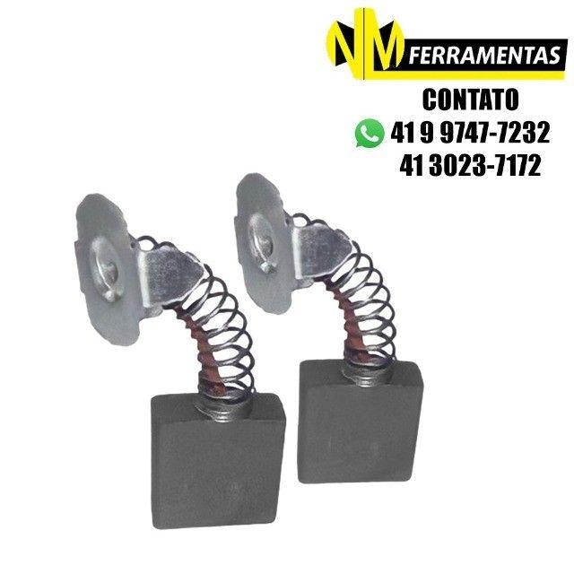 Escovas De Carvão Serra Esquadria Bosch/skil Gco 14 Ref.443