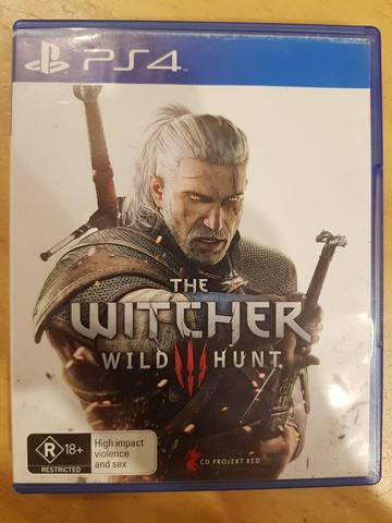 The witcher wild hunt para play 4