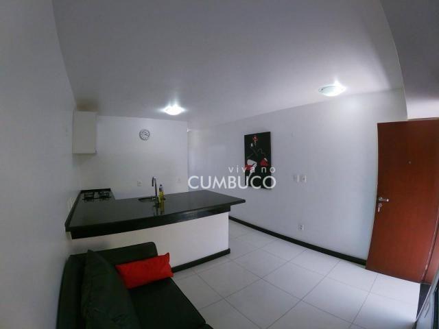 Flat com 1 dormitório, 37 m² - venda por R$ 200.000,00 ou aluguel por R$ 2.200,00/mês - Cu - Foto 2