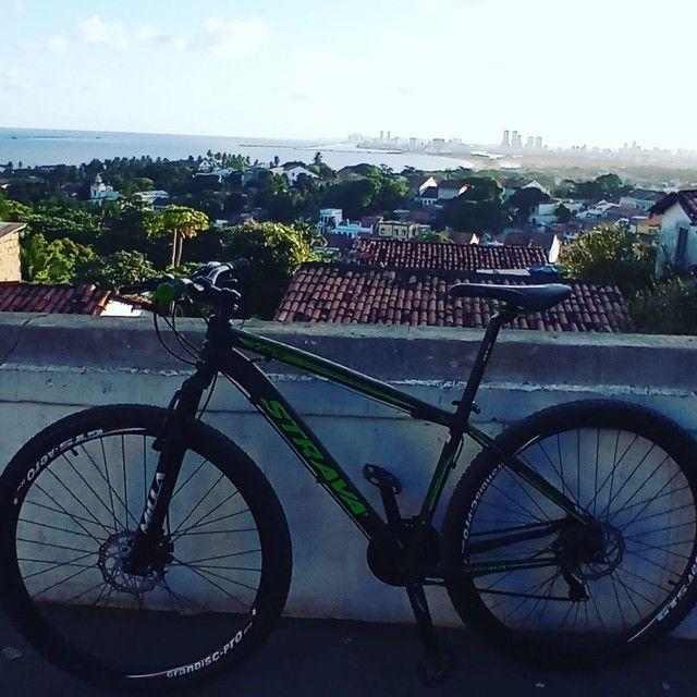 Bicicleta Strava aro 29 Quadro 17 - Foto 3