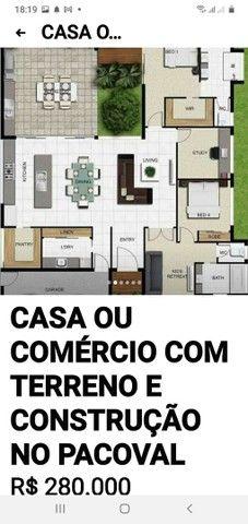 TERRENO COM CONSTRUÇÃO PROJETOS ETC - Foto 4
