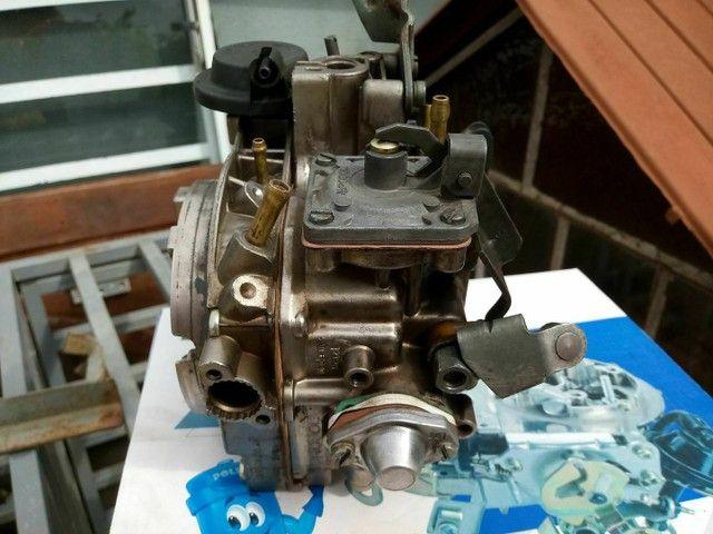 Carburador p motor ap 1.8 , 2.0 alcool revisado - Foto 3