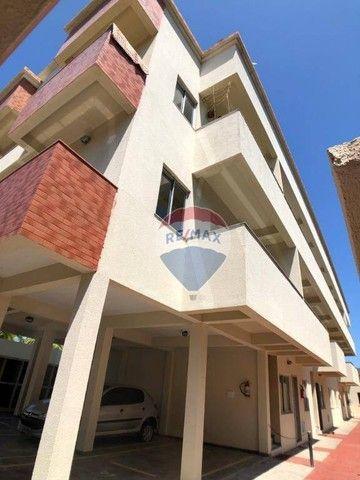 Apartamento com 2 dormitórios para alugar, 53 m² por R$ 790,00/mês - Edson Queiroz - Forta - Foto 2