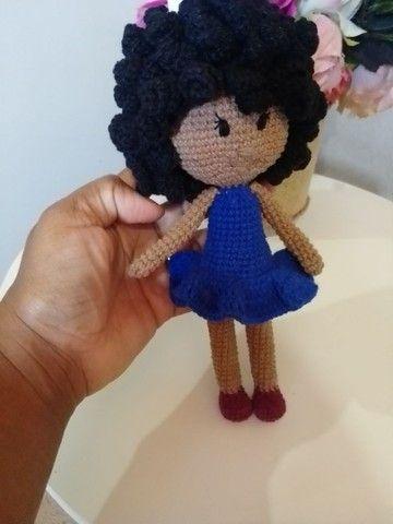 Bonecas em crochê (amigurumi). - Foto 5