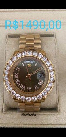 Relógio Rolex Datejust e Relógio BVLGARI Coringa