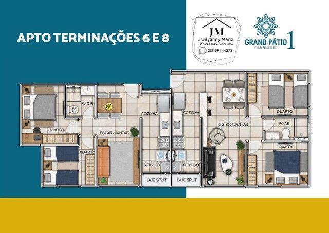 Apartamento 2 quartos Grand Pátio 1 - Foto 3
