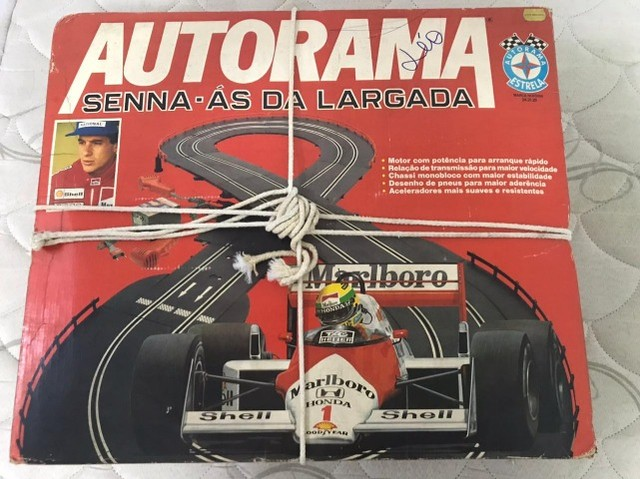 Vendo Autorama do Senna