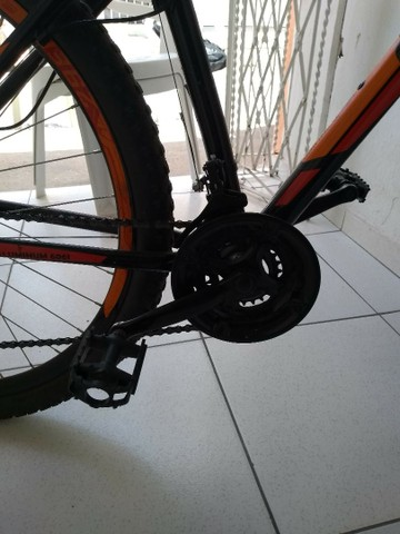 Bicicleta aro 29 vulcan alumínio freio a disco - Foto 2