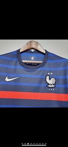 Camisetas Seleção da França  - Foto 6
