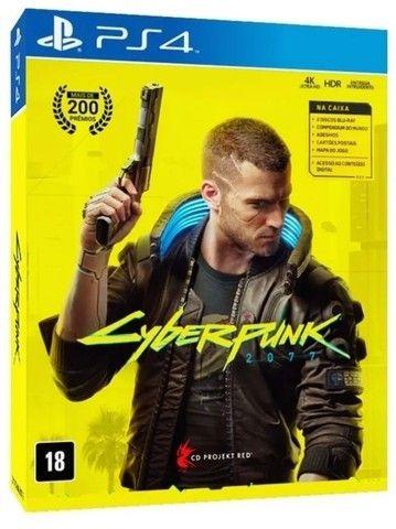 Cyberpunk 2077 Ps4 Mídia Física Lacrado