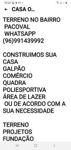 TERRENO COM CONSTRUÇÃO PROJETOS ETC - Foto 2