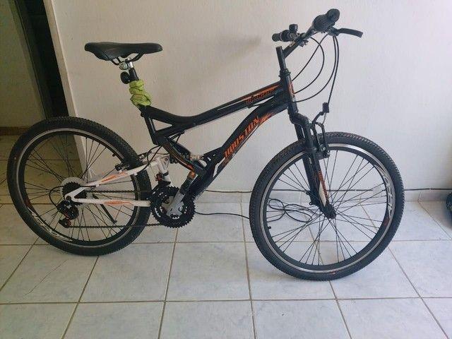 Bike aro 26 houston novíssima.