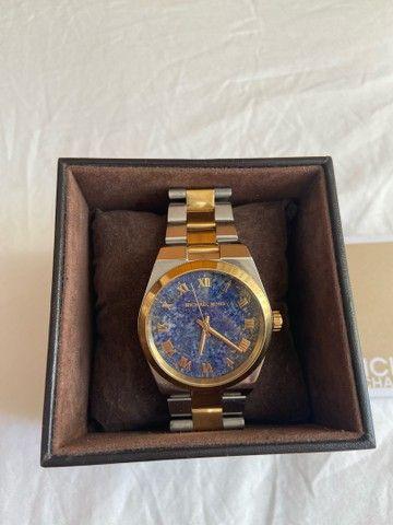 Relógio Michael kors silver gold - Foto 3