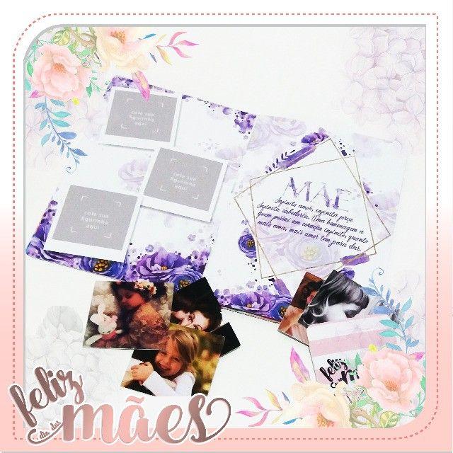 Album de Figurinhas personalizado Dia das Mães - Foto 3