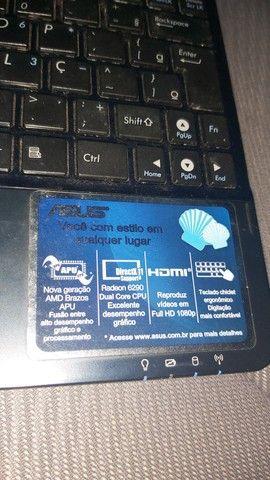 Netbook ASUS funcionando  - Foto 3