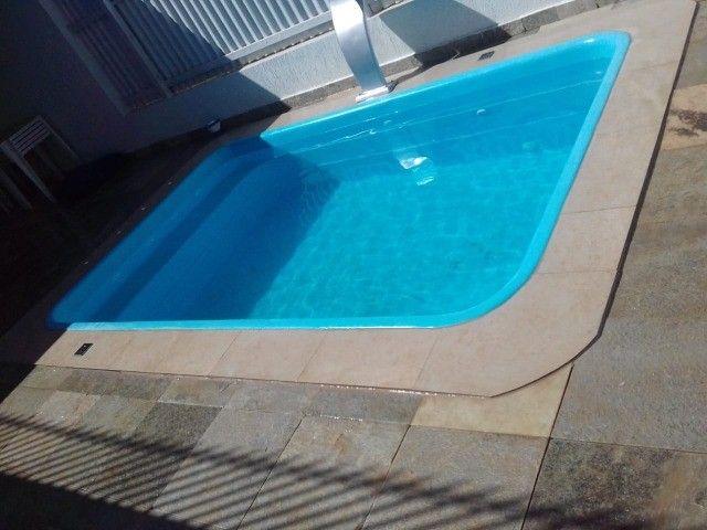 piscinas em fibra (casco) - Foto 3