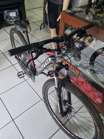 Bicicleta aro 29 Hidráulica Shimano  - Foto 2