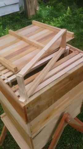 Caixa de abelha completa ninho +2 melgueiras colméia apicultura - Foto 2