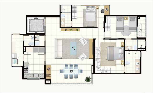 Apartamento 3 Suítes 121m² Próximo ao Vaca Brava - Essência Home Club - Foto 14