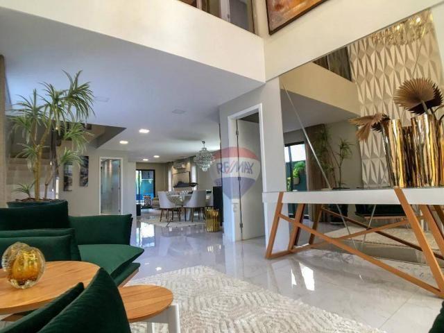 Casa com 3 dormitórios à venda, 337 m² por R$ 2.100.000 - Condomínio Alphaville Fortaleza  - Foto 5