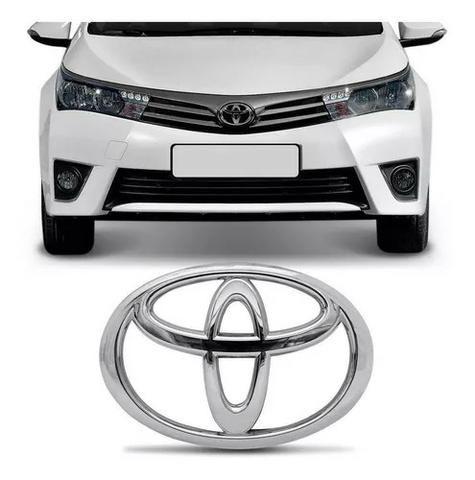 Emblema Grade Radiador Corolla 2015 2016 2017