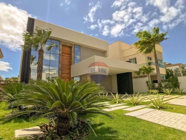 Casa com 4 dormitórios à venda, 360 m² por R$ 1.990.000 - Condomínio Alphaville Fortaleza