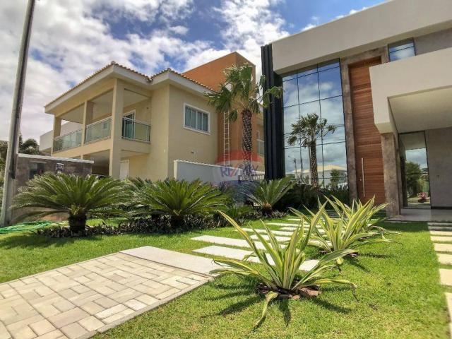 Casa com 4 dormitórios à venda, 360 m² por R$ 1.990.000 - Condomínio Alphaville Fortaleza  - Foto 10