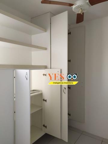 Yes imob - apartamento residencial para locação, 3 dormitórios sendo 1 suíte, 1 sala, 2 ba - Foto 13
