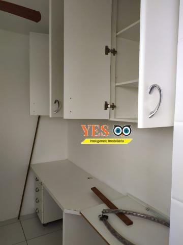 Yes imob - apartamento residencial para locação, 3 dormitórios sendo 1 suíte, 1 sala, 2 ba - Foto 2