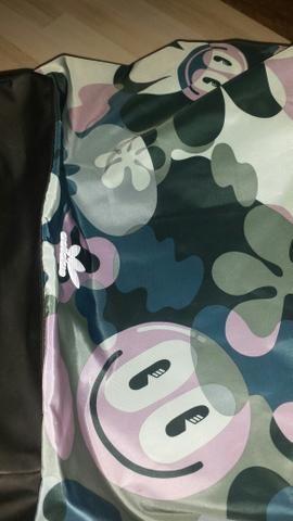 Bolsa Adidas original vira mochila também praticamente nova r$ 220 - Foto 3