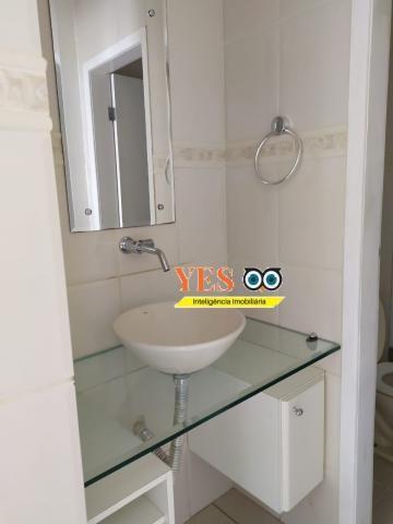 Yes imob - apartamento residencial para locação, 3 dormitórios sendo 1 suíte, 1 sala, 2 ba - Foto 4