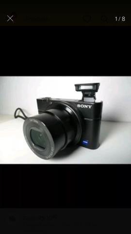 Câmera Sony Rx100 I [carregador/bateria, Polarizador, Tripé, MemoryCard] - Foto 5