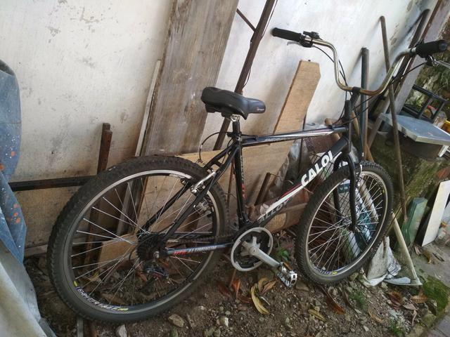 Bike Bicicleta Caloi alumínio ótimo estado