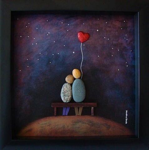 Arte com pedra