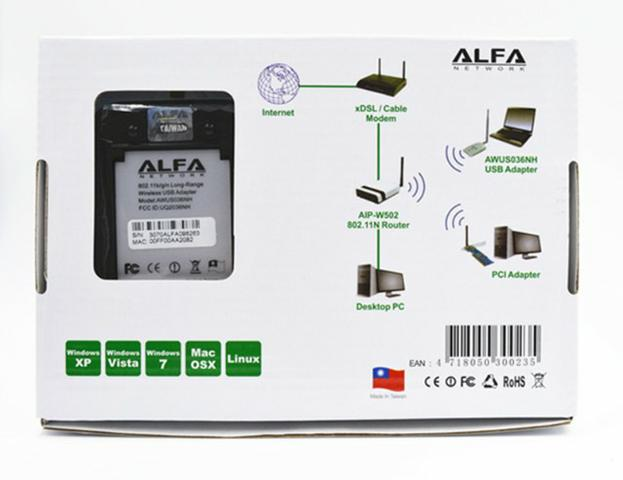 Alfa AWUS036NH Adaptador Wireless - Foto 4