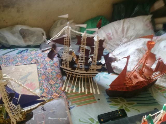 Barcos decorativos artesanais - Foto 6